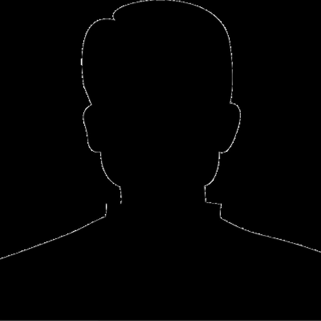 Man silhouette staff